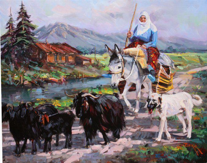 """Ressam Bekir Üstün » Artconsept.com www.artconsept.com677 × 532Buscar por imagen A.Hamdi Tanpınar'ın """"Kolaydan kaçan hakiki sanatkâr bilir ki; hayat ve hadisatın idraki ancak insan ruhu üzerinde düşünenlere ve onu anlamaya ve tespit etmeye çalışanlara nasip olabilir."""" Sözünü kendine ilke edinen ressam, eserlerinde Ressam - Buscar con Google"""