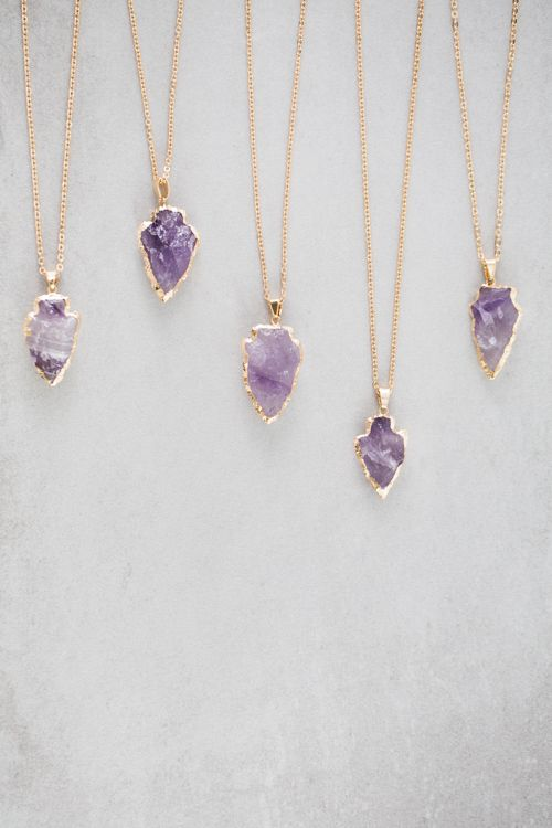 Lovoda - Arrow Spear Necklace | Amethyst , $18.00 (http://www.lovoda.com/arrow-spear-necklace-amethyst/)
