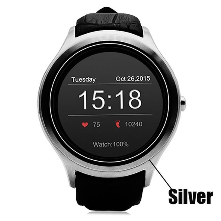 ColMi Smart Watch VS90 Android 4.4 3G WIFI Built-in GPS Heart Rate Monitor SIM Card Download APP 512MB+4GB Memory Smartwatch