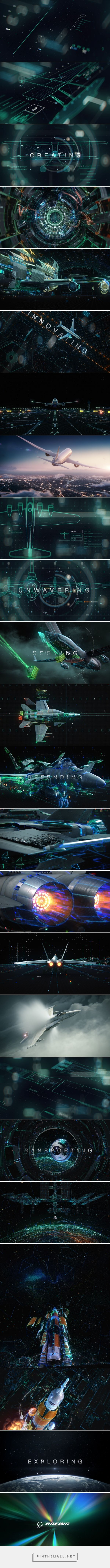Boeing 100 | Director's Cut on Behance... - a grouped images picture - Pin Them All