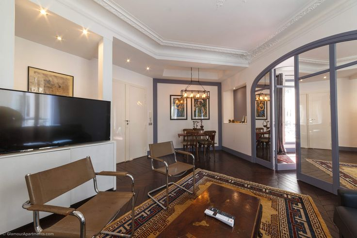 Beautiful, Spacious, Comfortable 3 Room Apartment For Rent In The 8th  Arrondissement Of