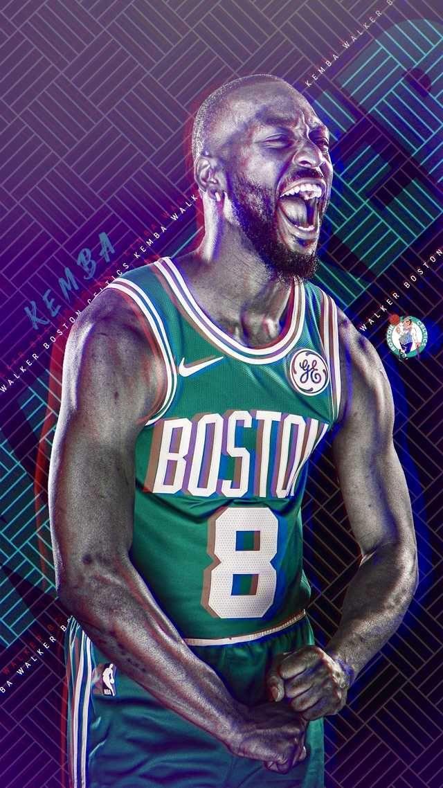 Boston Celtics Wallpaper Iphone Kemba Walker Edit Boston Celtics