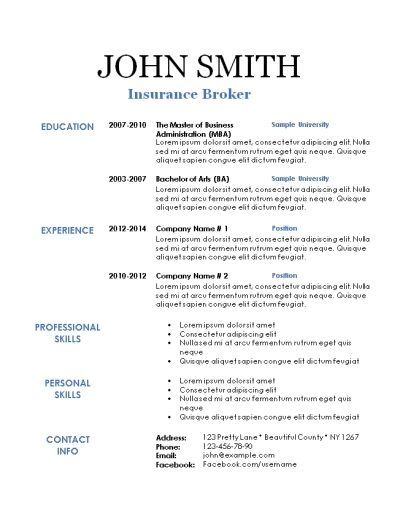 10 best Creative Resume Templates images on Pinterest Creative - free printable resume samples