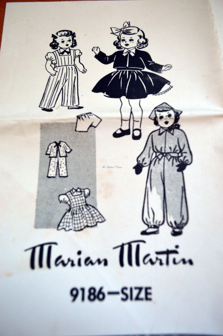 Sune-news pictorial. Melbourne, 1950's, Dolls wardrobe. paper pattern by TheQuiltedCheese on Etsy
