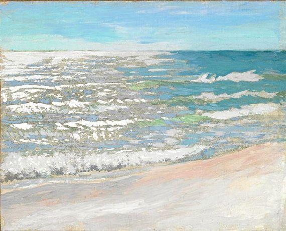 Jens Ferdinand Willumsen, Coastal Scenery, 1909