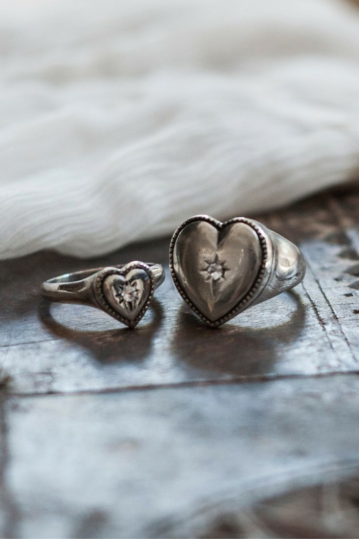 DID YOU KNOW? Signet rings are unique pieces of jewellery that hold a very strong symbol of identity... Love is the identity of our Sentiments Signet Rings. Gift them to those you love the most