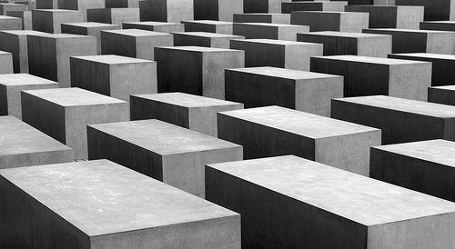 Holocaust-Mahnmal by  Peter Eisenman