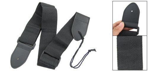 Como Comfort Blk Nylon Guitar Shoulder Band Strap Adjustable by Como. $4.40. This Black Guitar Strap is made of good quality nylon material with faux leather ends.Come with a nylon wire for you convenient to connect the Guitar Strap to your guitar.The Adjustable Guitar Strap is really a good item for your beloved guitar.