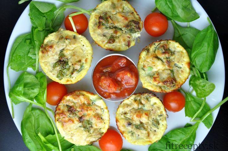 Vajíčkové muffiny s tuniakom - FitRecepty