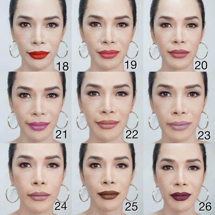 Golden Rose Longstay Liquid Matte Lipstick Kissproof No. 18-26 swatch
