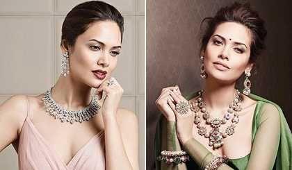 Esha Gupta Looks Like A Mughal Empress During Hazoorilal Jewellers Campaign