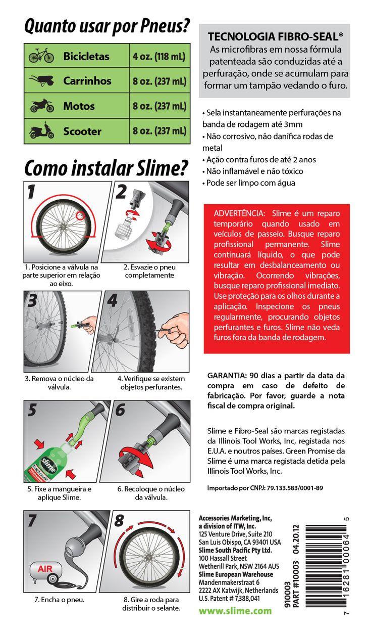 Selantes, Remendos, Compressores de Ar, Slime Brasil