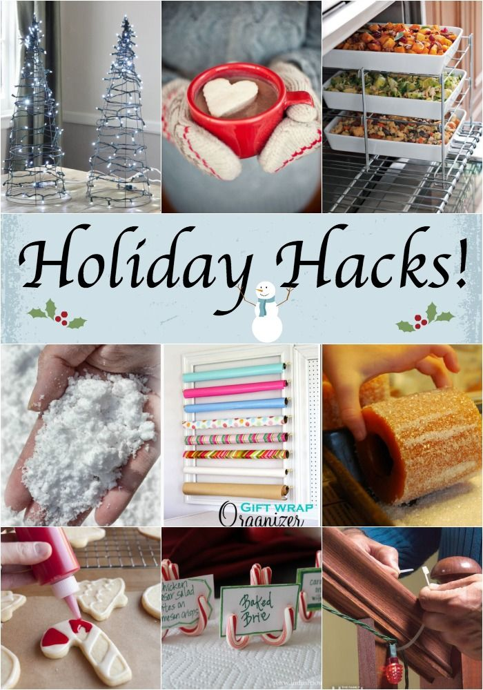 Fun and easy hacks for the holiday's!