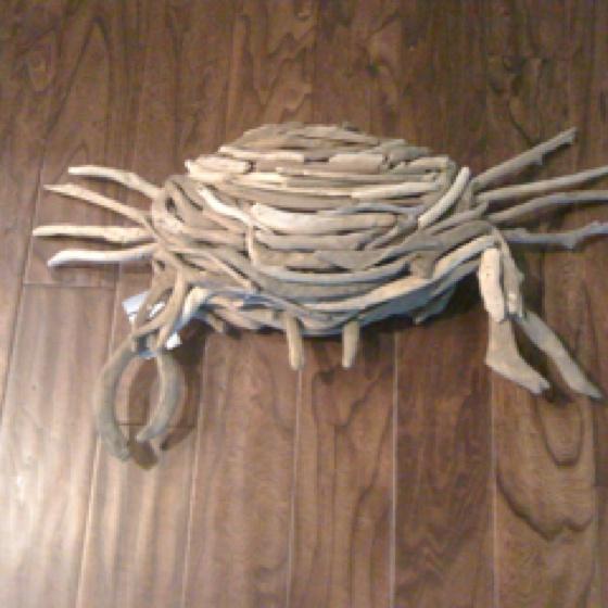 226 best driftwood art images on pinterest driftwood art for Driftwood art crafts