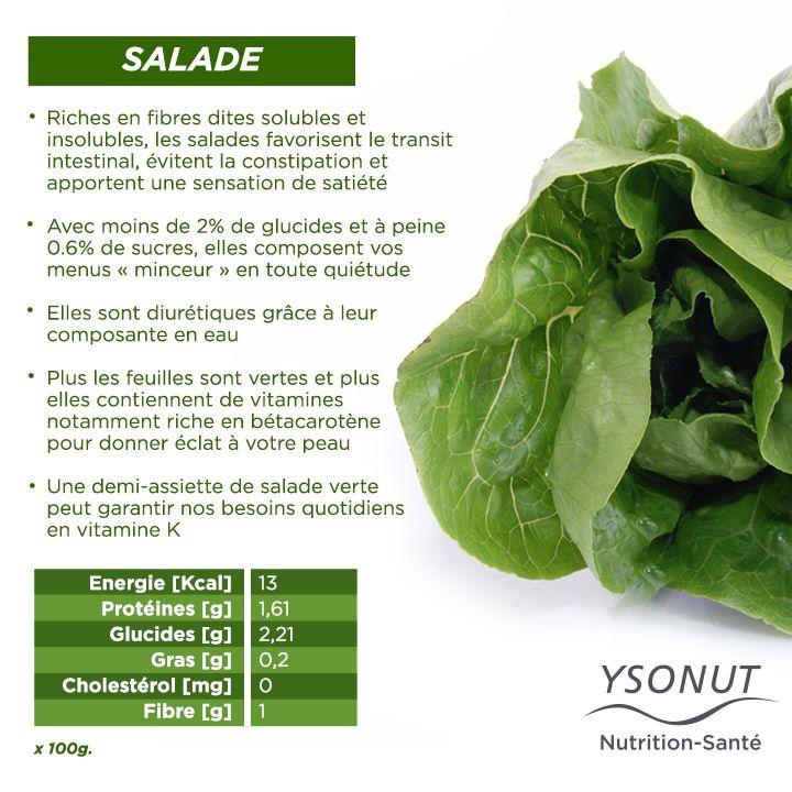 Les #salades sont la base de vos plats tout au long de l'été ! Découvrez leurs #bienfaits