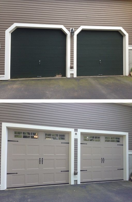 Reframe And New Garage Door Install With Haas 2060