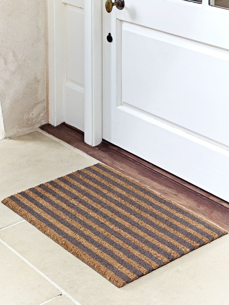 Striped Doormat - Medium