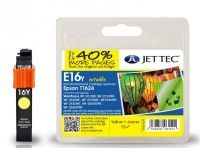 JetTec Epson T1624 Yellow Remanufactured Ink Cartridge The Epson T1624 Yellow remanufactured Ink Cartridge by JetTec - E16Y cartridge is a JetTec branded remanufactured printer ink cartridge for Epson printers. They provide OEM style quality printing but  http://www.MightGet.com/february-2017-3/jettec-epson-t1624-yellow-remanufactured-ink-cartridge.asp