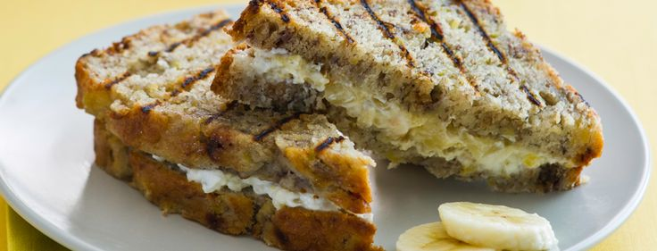 ... Breeze Banana Bread Panini with Pineapple Ginger Cream Cheese Filling