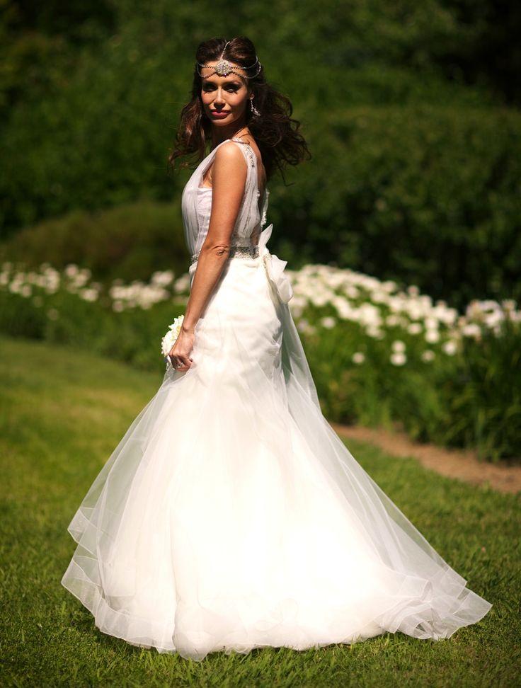 Wedding Gown by Zahavit Tshuba  My Pre Wedding Photo Shoot