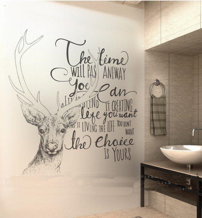 Time Deer Wall Sticker                                                                                                                                                                                 More