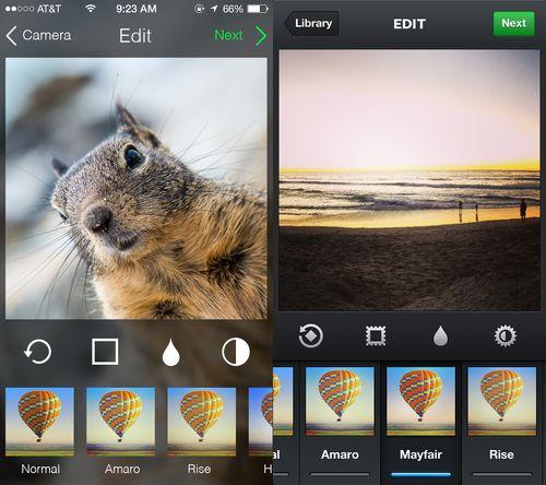 Instagram iOS 7 http://dribbble.com/shots/1110625-Instagram-on-iOS-7