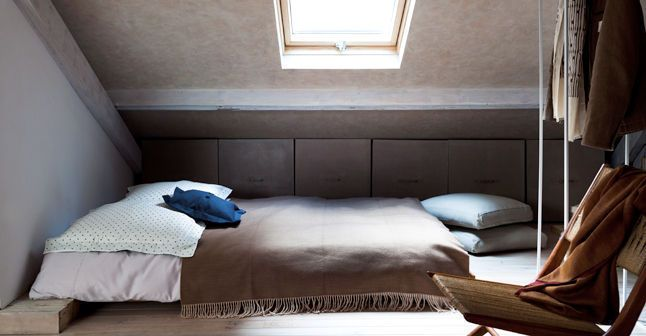 Installer une chambre sous les toits : 9 photos pour aménager une chambre dans les combles
