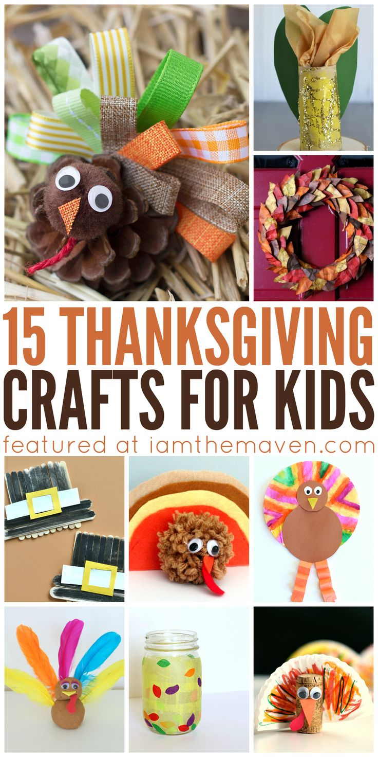 We are getting a head start on the craftiness with these Thanksgiving crafts for kids. Gobble Gobble!