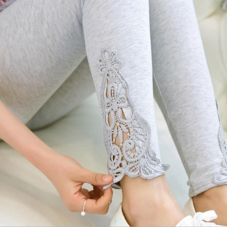 leggings 2017 new quality size S  7xl women leggings thin hollow thin lace leggings solid pants plus size 7xl 6xl 5xl-in Leggings from Women's Clothing & Accessories on Aliexpress.com | Alibaba Group