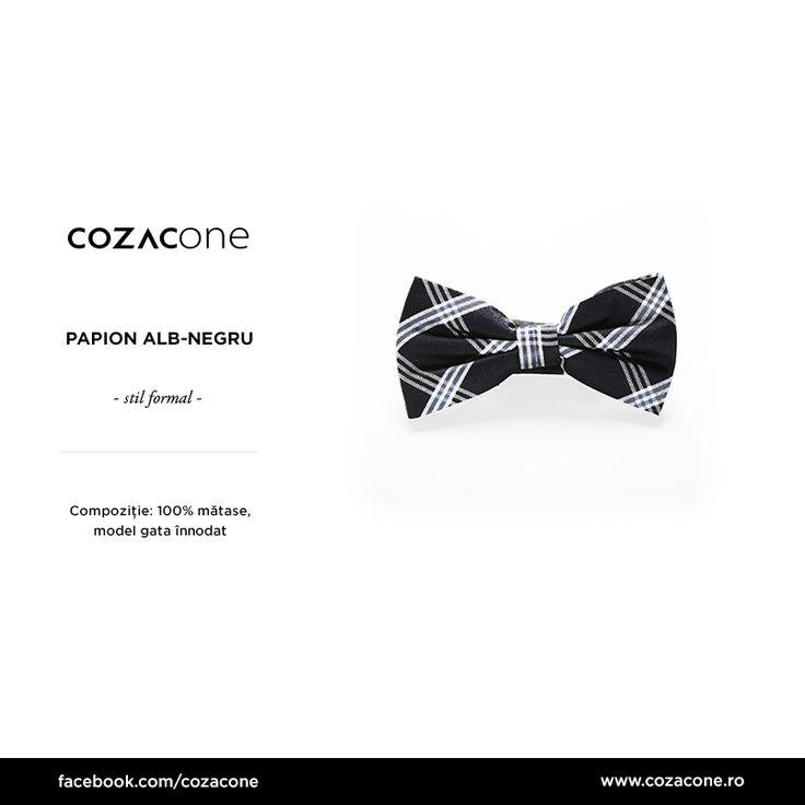 Un papion în carouri își găsește ușor locul în ținutele smart: http://www.cozacone.ro/produse/detalii/papion-17/