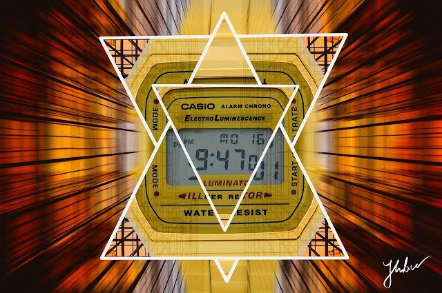 "WSPOMNIENIA ""KLEZMERA"" Photos: Casio Hipster Geometric  Casio Classic Gold"