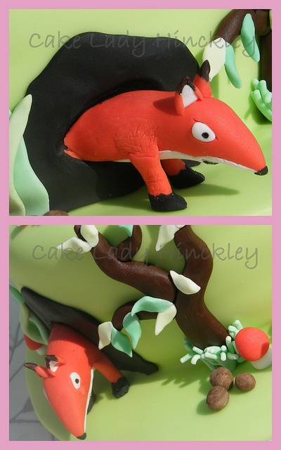 Cake Lady Hinckley - Fox - My Daughters Gruffalo Cake by Cake Lady Hinckley_Life_is_delicious (Stacy), via Flickr