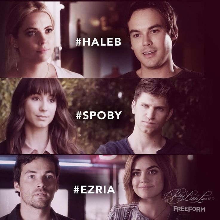 Haleb, Spoby, Ezria - Pretty Little Liars