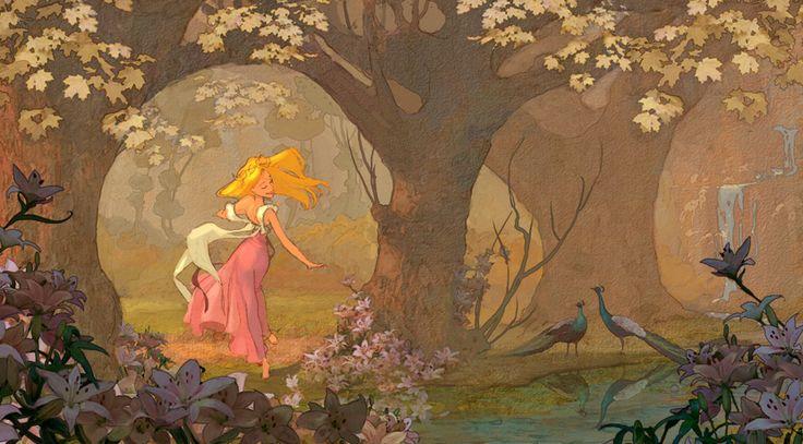 Enchanted - Giselle character concept by Lisa Keene