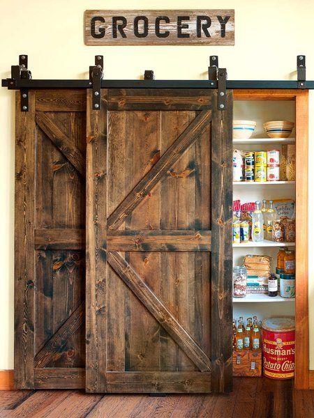 Las 25 mejores ideas sobre puertas corredizas de madera for Puertas tipo granero