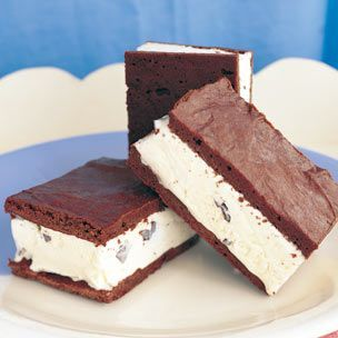 Homemade ice cream sandwiches!
