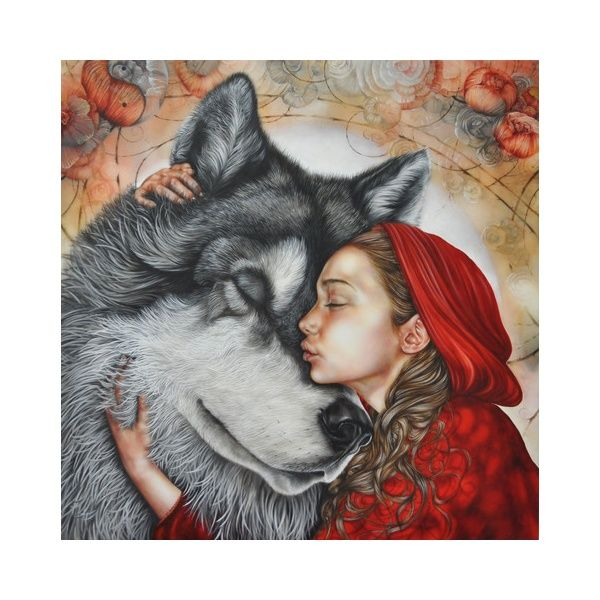 Kerry Darlington - Little Red Riding Hood -  from Generation Gallery UK