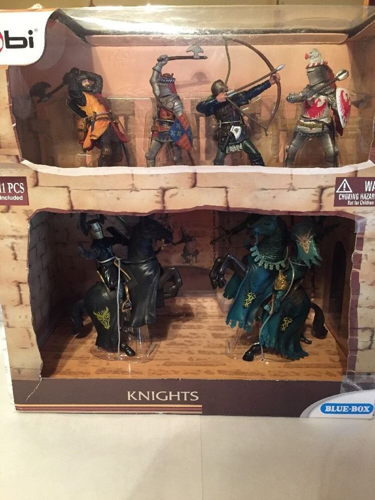 bbi Blue-Box Knights Brand New 11pcs Included