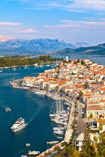 Poros island, Greece