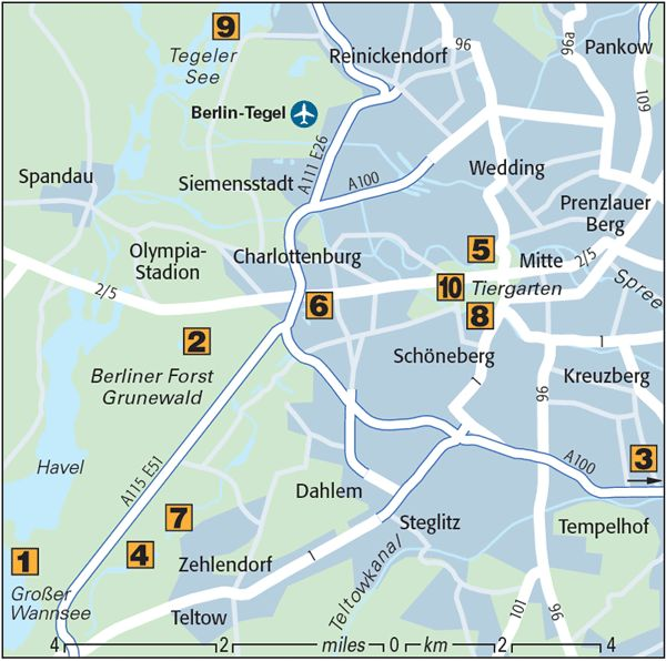Berlin's Top 10 : Lakes, Rivers & Canals