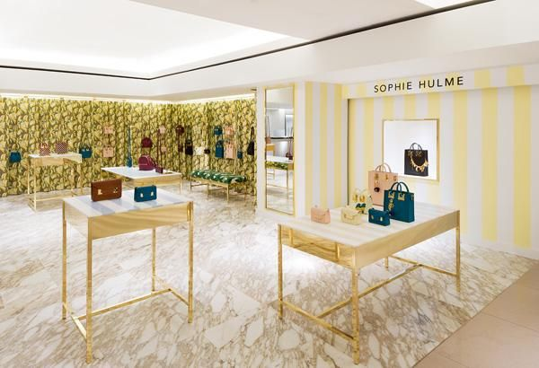 Sophie Hulme pops up at Harrods - Retail Focus - Retail Blog For Interior Design and Visual Merchandising