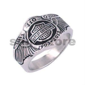 men harley davidson rings | Mens Harley Davidson Ring Size 10