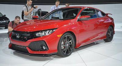 Honda Civic Si 2017 ist ein Prototyp nur im Namen Concepts Honda Honda Civic Honda Civic Si Honda Concepts LA Auto Show