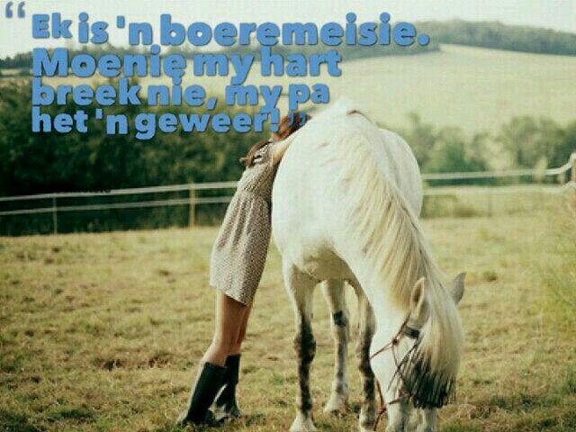 Boeremeisie...