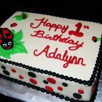 Ladybug Smash Cake Cakes By Elle Picture