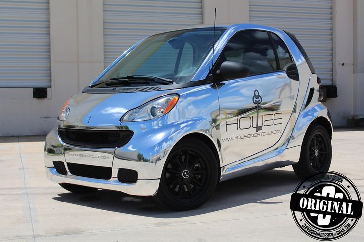 Smart Car Wrapped In Chrome Superior Auto Design Chrome