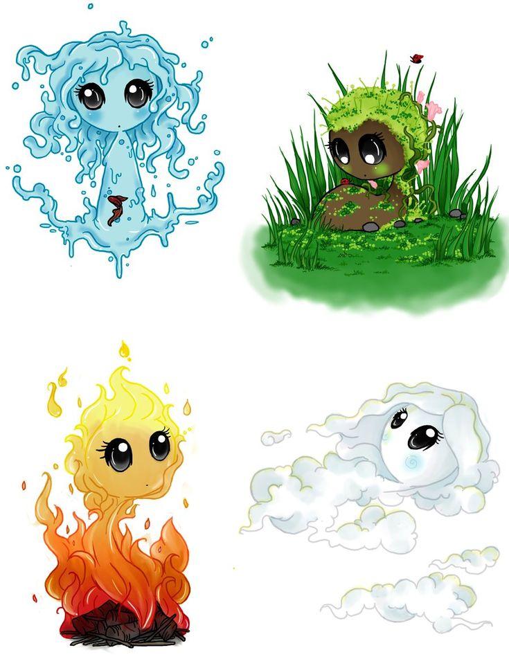 The Elements by Art-forArts-Sake.deviantart.com on @DeviantArt