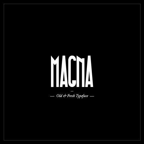 Typo Gratuite Magna   Free Font La police de caractère « Magna » offerte et conçu par Hendrick Rolandez, http://www.studiokarma.fr/typo-gratuite-magna-free-font-studio-karma/