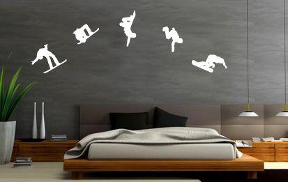 Modern Snowboard Bedroom
