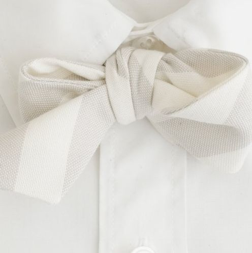 white on white: White Bows, Bows Ties, White Ties, White Accessories, Ties Bowties, White Shirts, Grey White, Bows White, Ties Knot